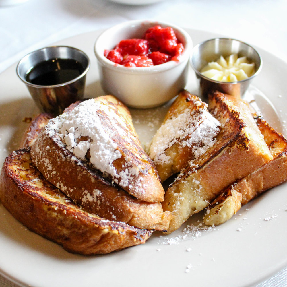 French Toast may seem simple but nothing was ordinary about this dream of a breakfast.