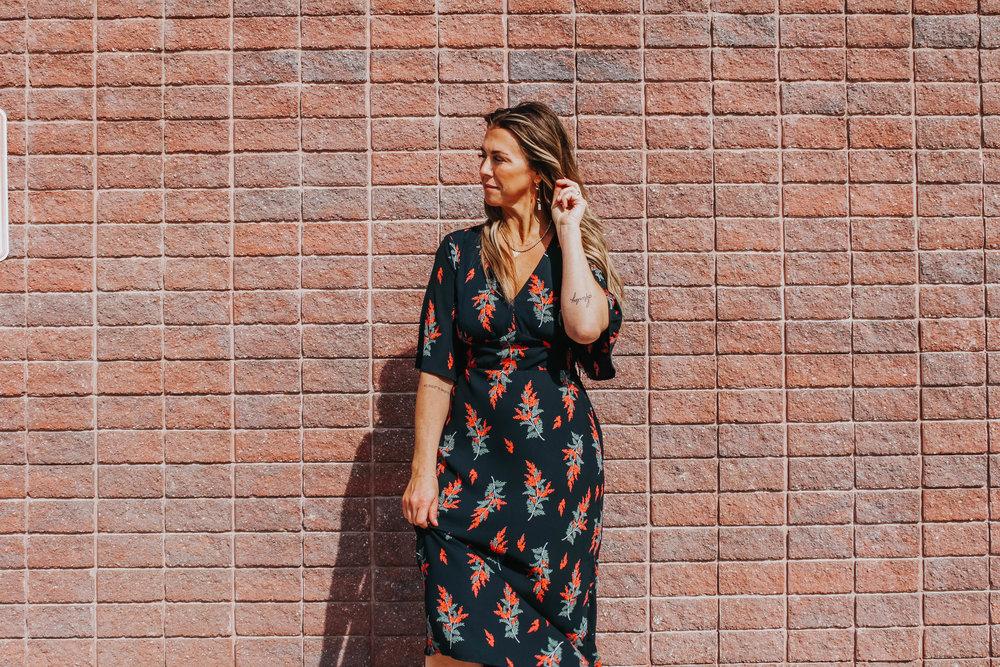 Blooming Fields Midi Dress ($48.50)