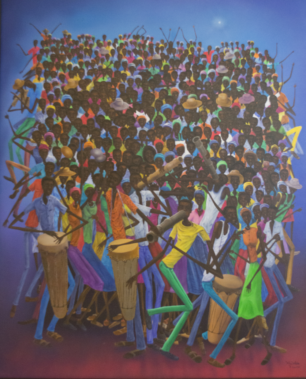 19 - Celebration in Batey by Fritz DesRoches
