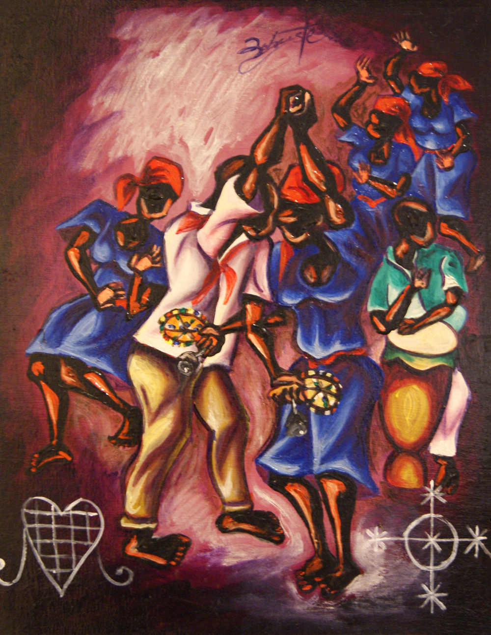 14 - Voodoo in Batey by Franck Robuste