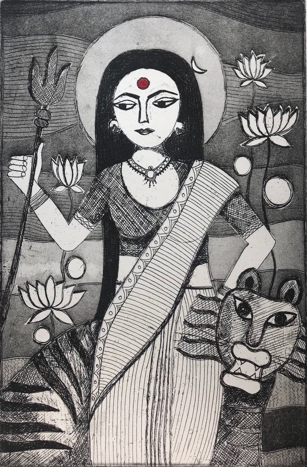 Anshula Tayal - Goddess Shakti as Every Woman...the Creator, Preserver and the Destroyer.jpeg