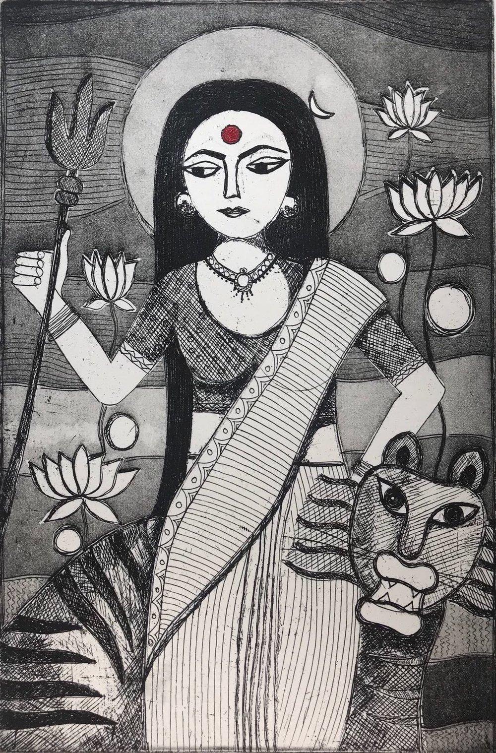 Anshula Tayal - Goddess Shakti as Every Woman...the Creator, Preserver and the Destroyer.jpeg