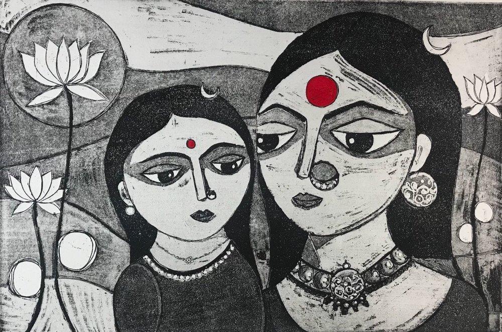 Anshula Tayal - Mother to Daughter...giving Shakti.jpeg