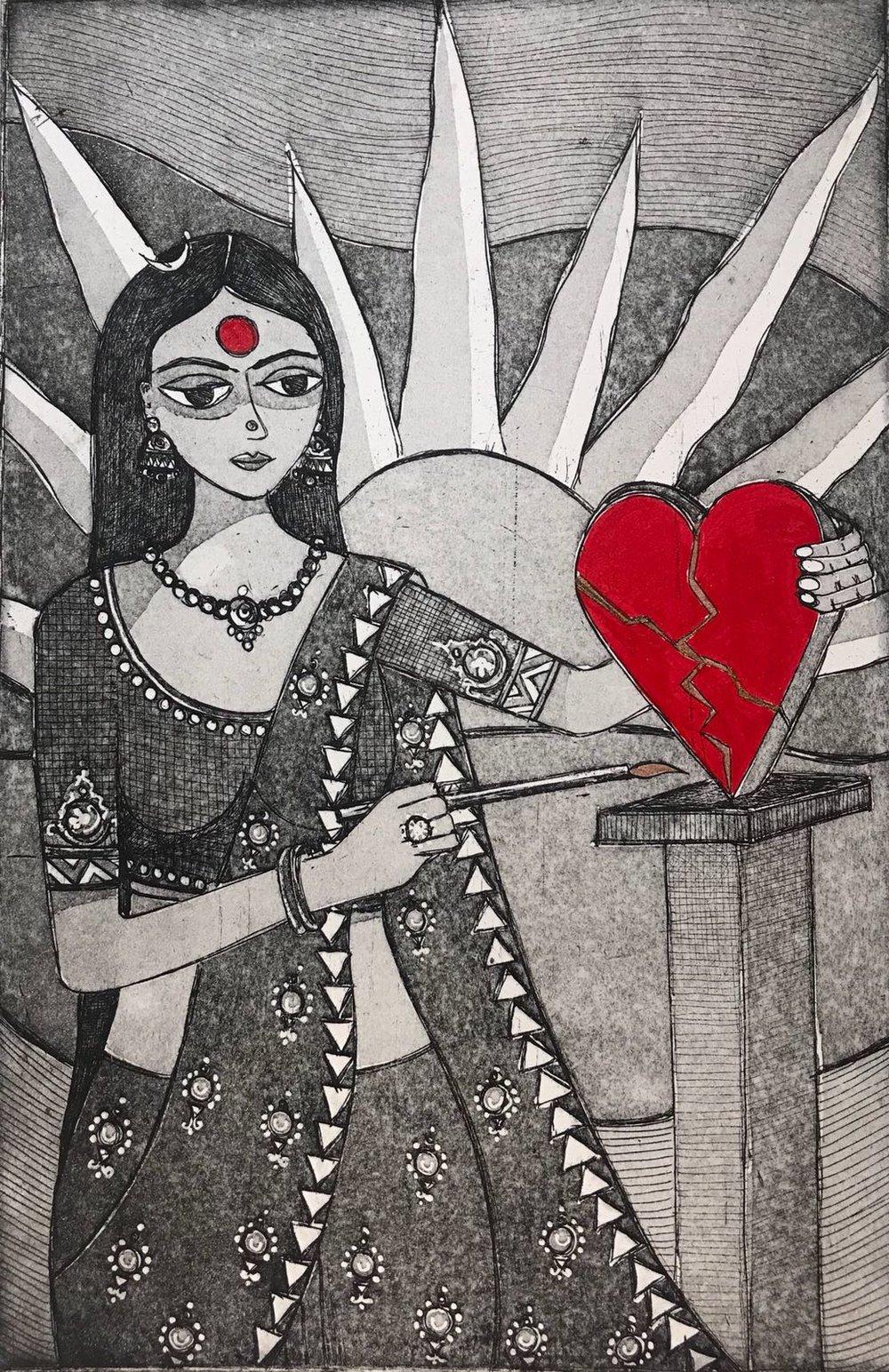 Anshula Tayal - Kintsukuroi...'To Repair with Gold' A Healer.jpeg