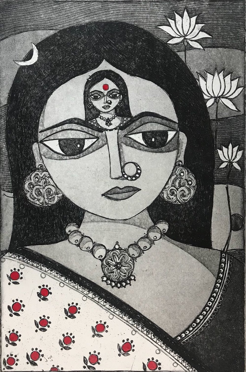 Anshula Tayal - Me First...Love Yourself First. Based on Frida Kahlo's 'Diego and I'.jpeg