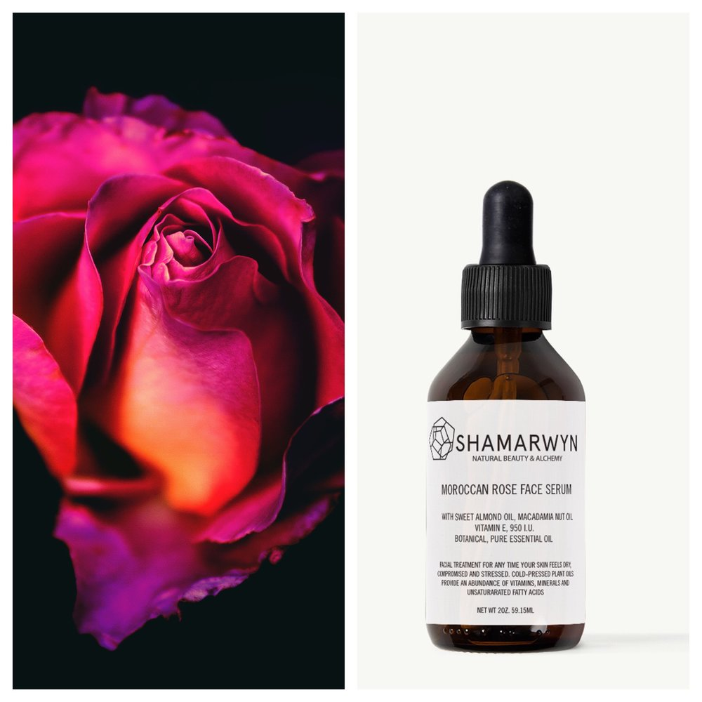 Moroccan Rose Face Serum  (buy now  )