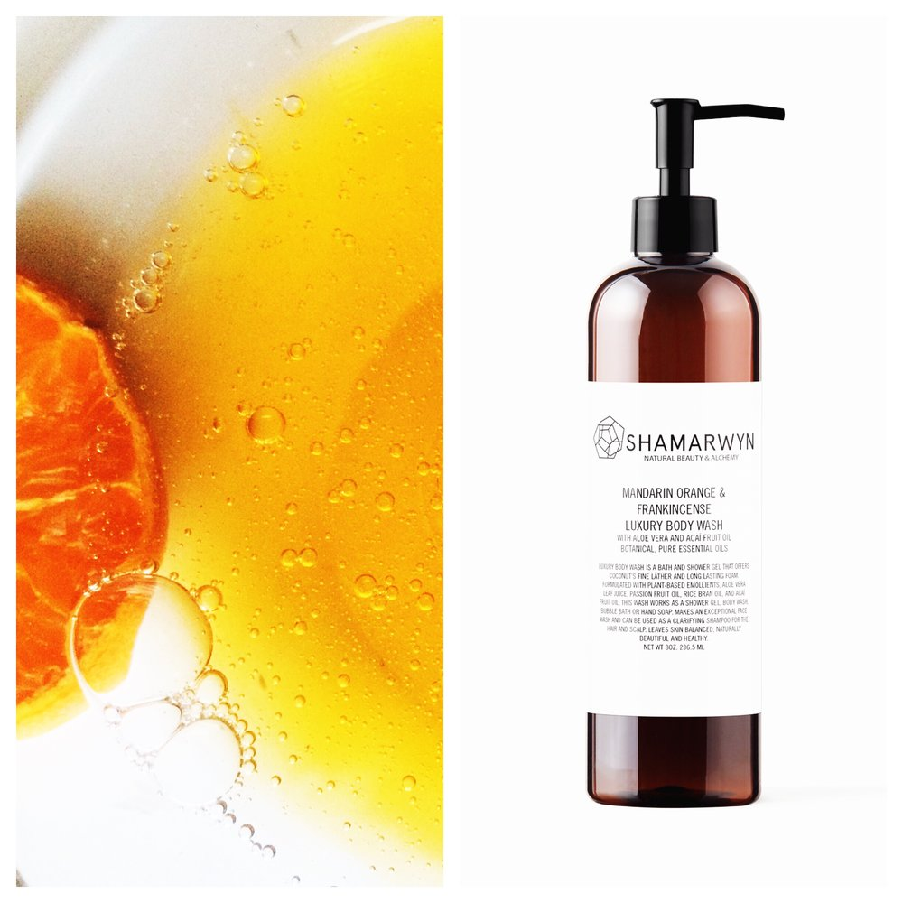 Mandarin Orange & Frankincense Luxury Body Wash