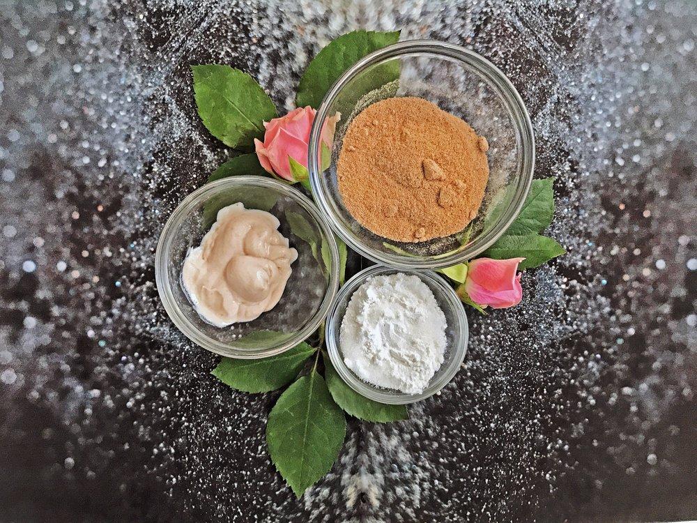 Shamarwyn's Facial Exfoliant Ingredients