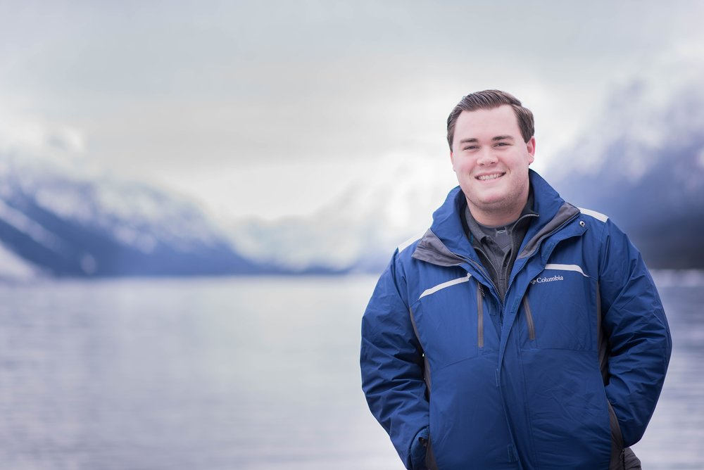 Portrait courtesy of Jennifer Lauren Photography. Captured at Lake McDonald in Glacier National Park, Montana.