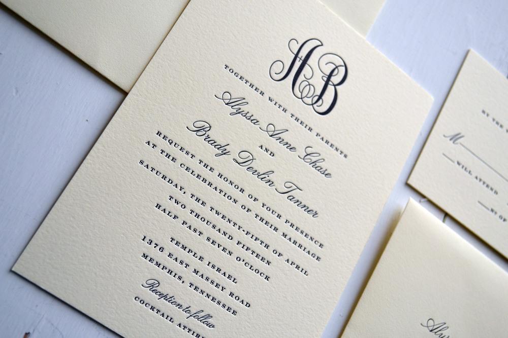 Custom invitations jpress designs monogramwedding4g stopboris Image collections