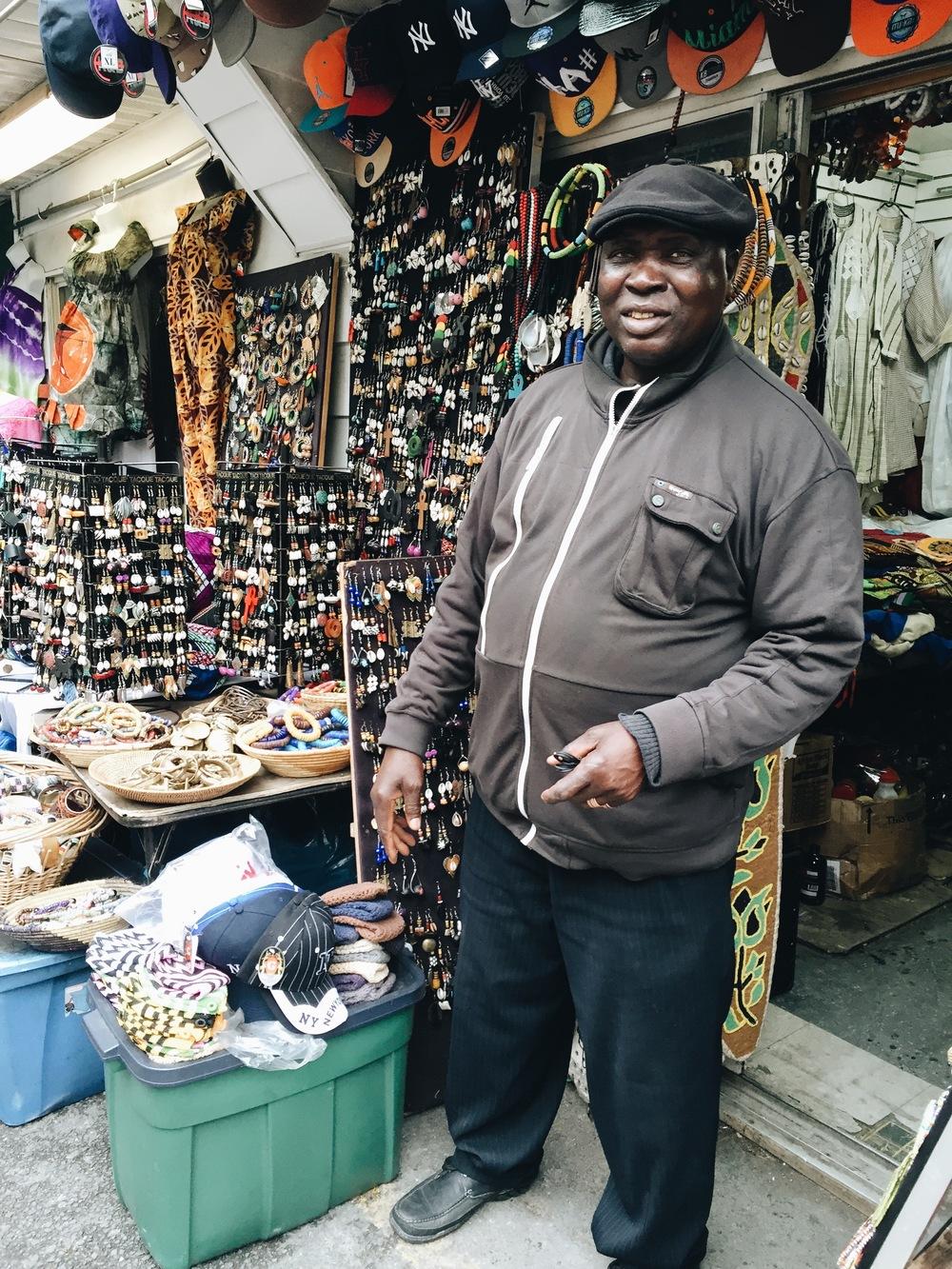 Sanna Kanuteh, Shabazz Market/Both #78 116 St., Harlem NYC