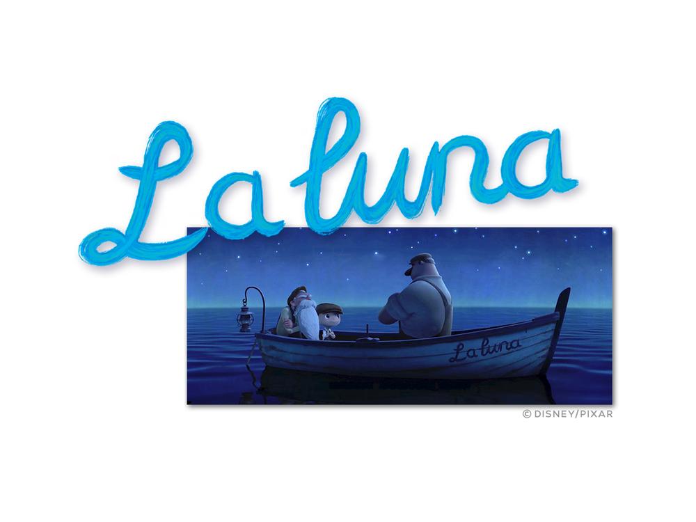 "Logo & Title design for ""The Blue Umbrella"" – PIXAR"