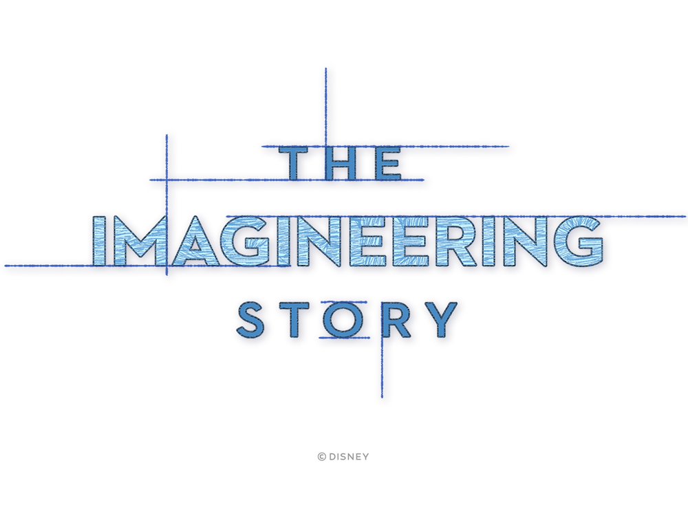 Logo & title animation for Leslie Iwerk's doc on Disney's Imagineering