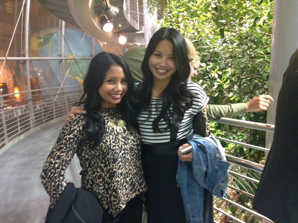 Nightlife with one of my favs in the faux rainforest