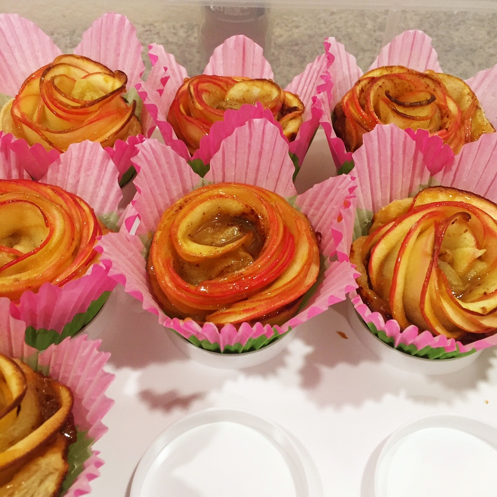 Birthday Rose Tartlettes