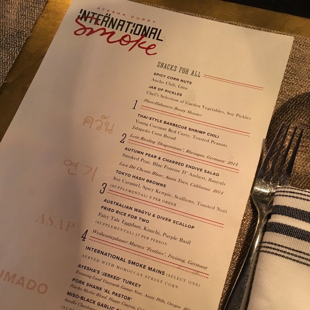 The Menu - We ordered the Deluxe so basically got EVERYTHING