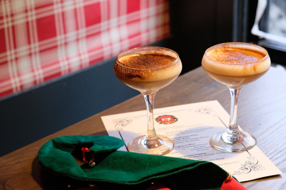 Gingerbread cocktail // Photo Credit: The Buttery Existence / Cherlyn Medina