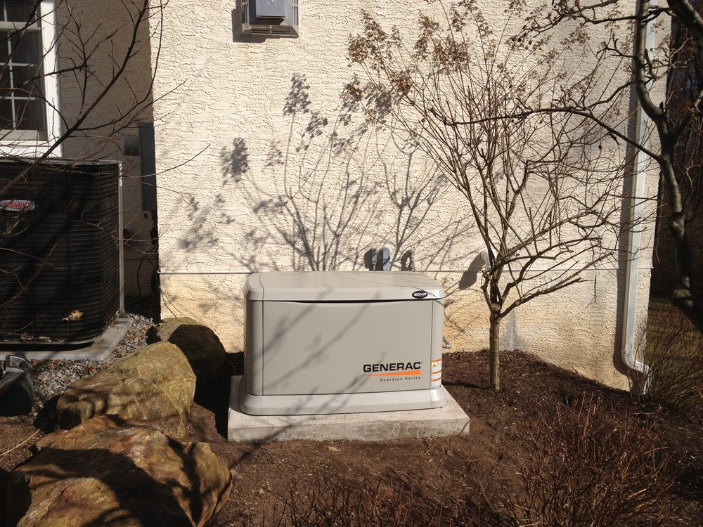 Home standby generator.
