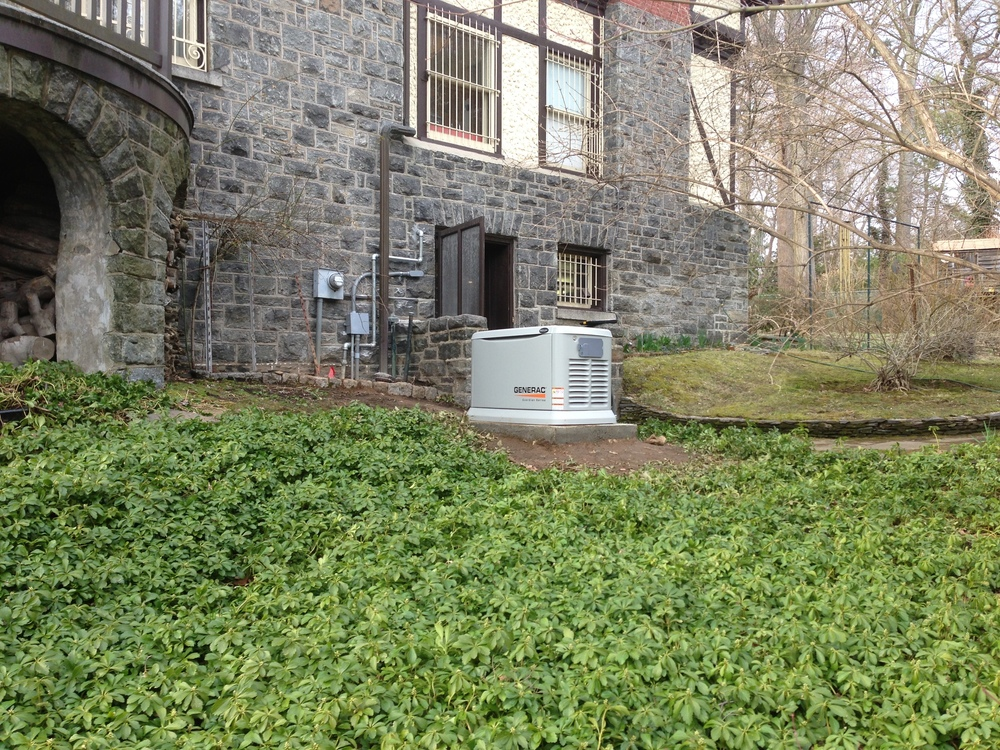 Home standby generator.