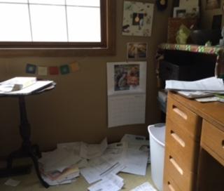 My mess!