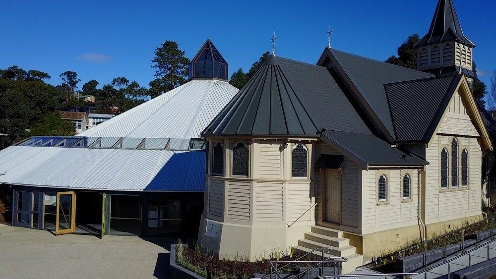 Main church and chapel