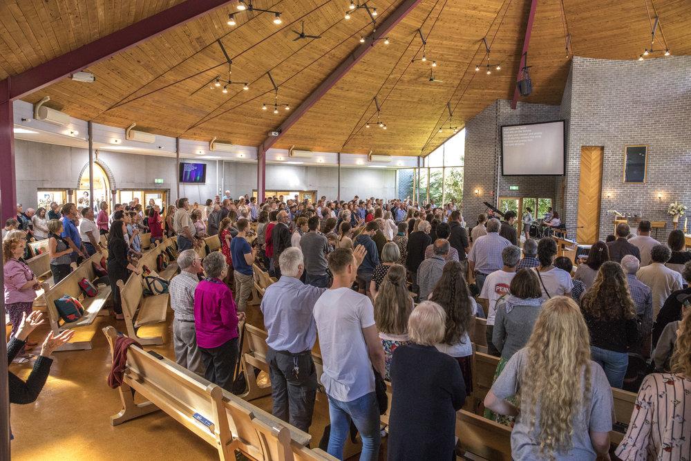 Inside main church