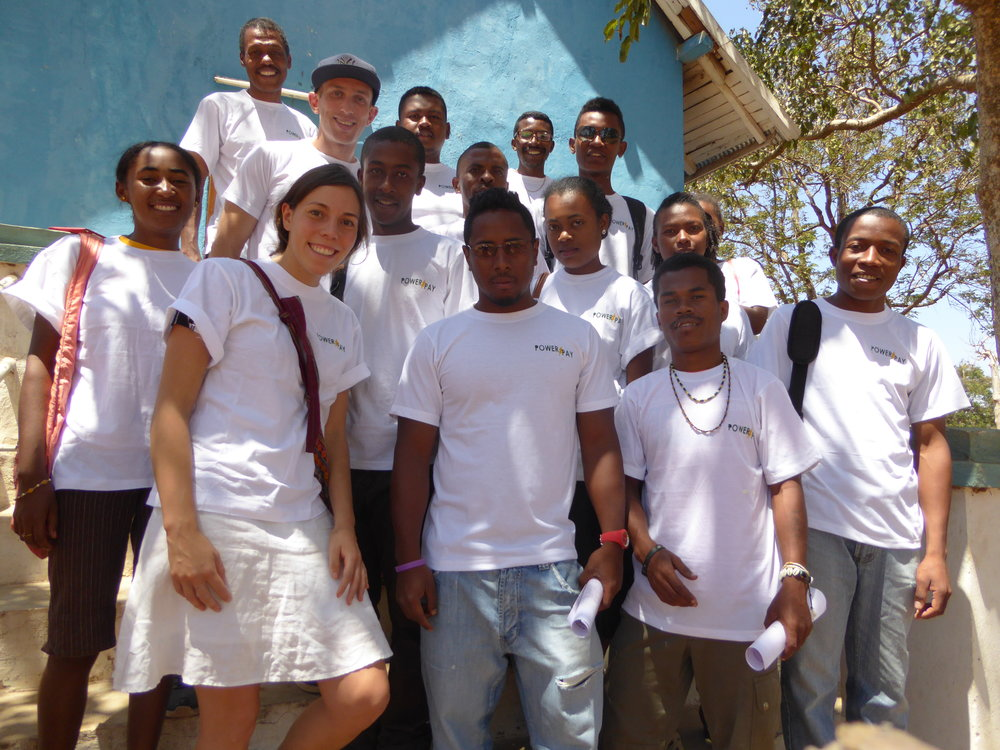 The Power Pay team in Ambovombe