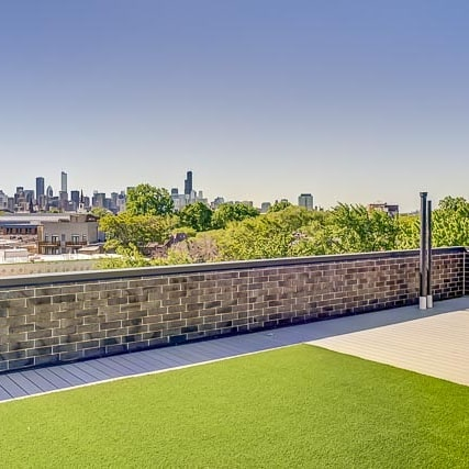 Spectacular views from the balconies and rooftop decks at the Lincoln building. Only 2 units remaining for sale!  #lincolnpark #chicagocondos #cityview #citylife #chicago #condosforsale #chicagorealestate