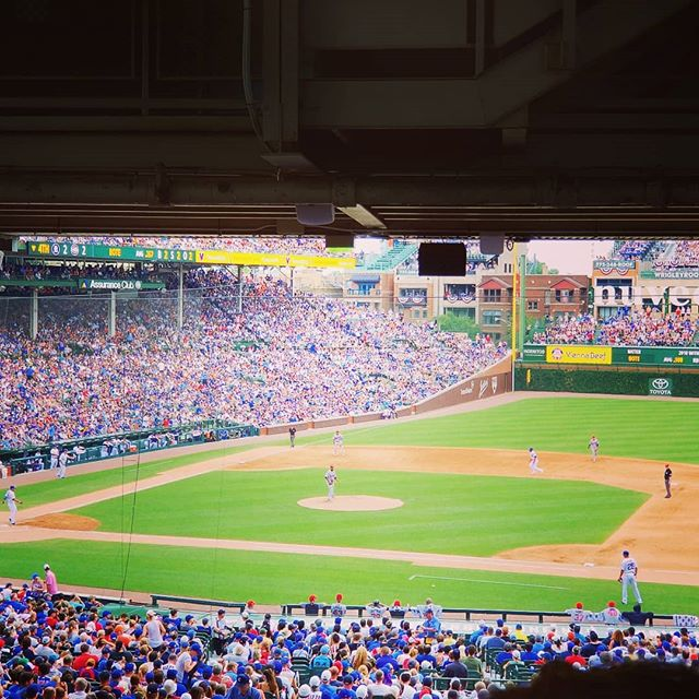 Y'all enjoy some baseball, BBQ and fireworks on this 4th of July!  #july4th #4thofjuly #cubs