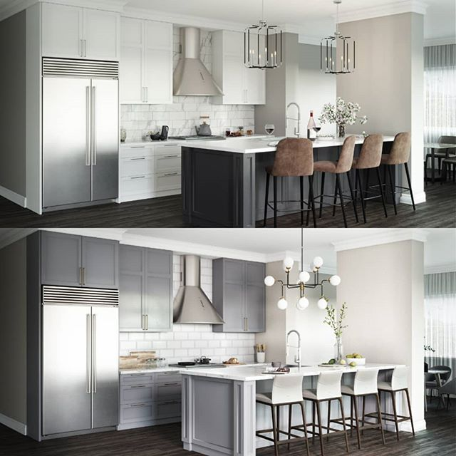 First look at the proposed penthouse kitchens at Thirty-One Fifty Southport! Floor plans and pricing can now be found on the project's website - link in bio. Each unit will be assigned one garage parking space; penthouses will have two assigned garage spaces. The commercial tenant, @byline_bank, will have also off-street parking available for customers!  #southport #chicago #cityliving #interiorinspiration