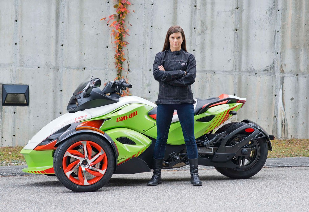 Danica Patrick - Can-Am photoshoot