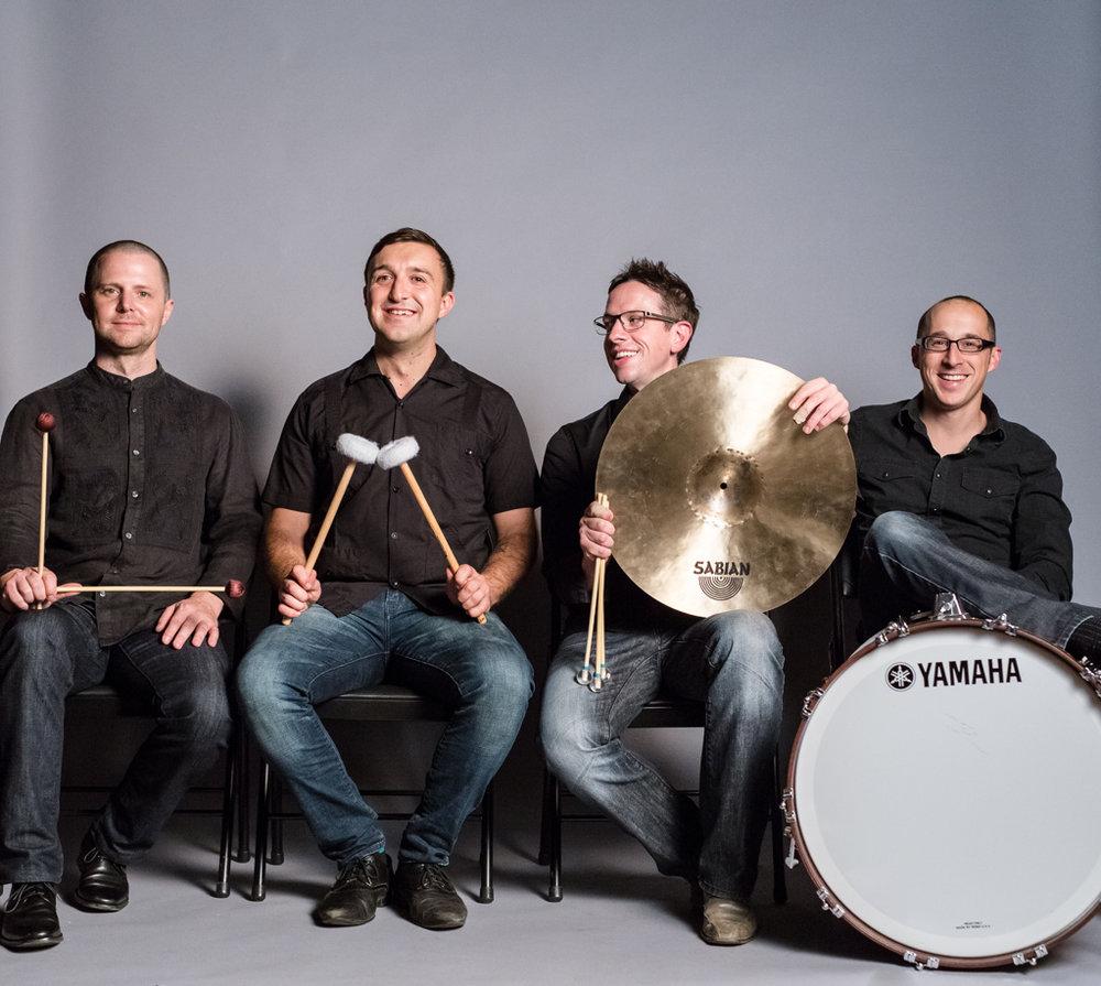LA Percussion Quartet - Grammy-nominated percussionists, live at the 2017 Arcadia Music & Arts Symposium.