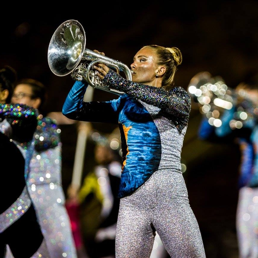 Play side-by-side withThe Blue Knights - 360° Experience:Students will learn a segment of the Blue Knights 2018 production and play alongside the performers as they prepare for Corps at the Crest!