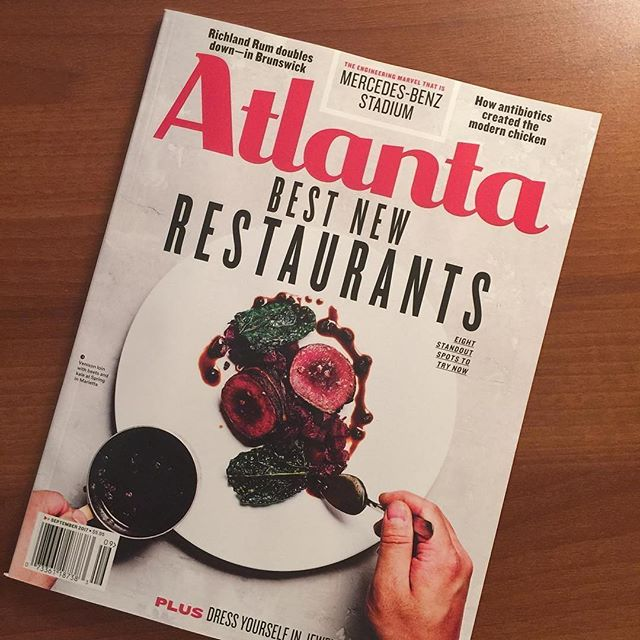 Congrats to our friends @springmarietta for such great accolades of late! Totally deserved. 🙌🙌🙌 #Repost @springmarietta ・・・ Thank you @atlantamagazine for naming us as one of Atlanta's best new restaurants. Cannot wait to get this venison dish back on the menu in the fall. #springrestaurant #springmarietta #mariettasquare #atlantamagazine