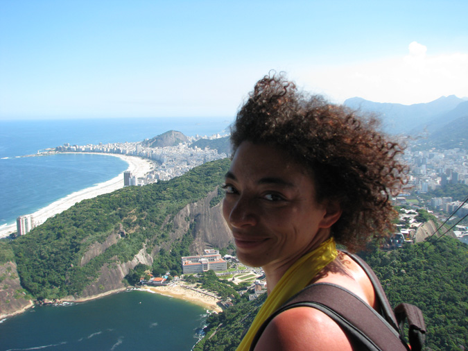 Yours Truly at Pão De Açucar (aka Sugarloaf Mountain)