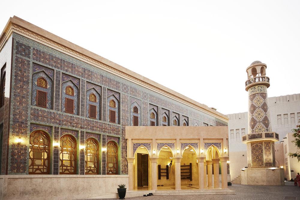 Katara Masjid (Mosque, in Katara Cultural Village, Doha, Qatar)