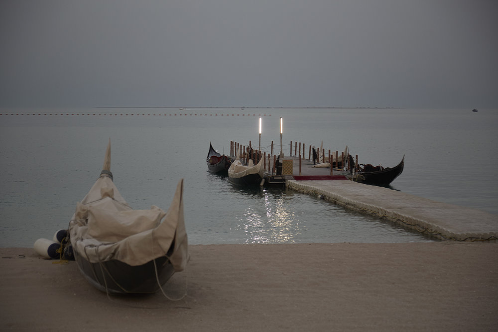 Waterfront in Doha, at Katara Cultural Village