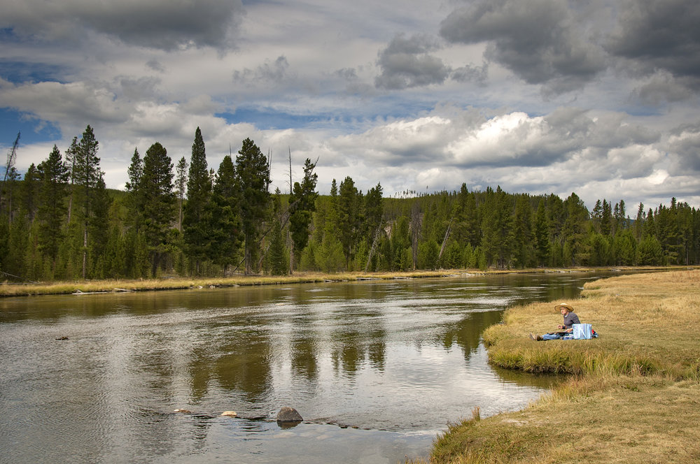 Painting on the Firehole River.jpg