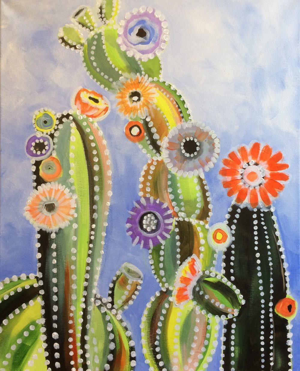 JANUARY 24 - BLOOMING CACTI