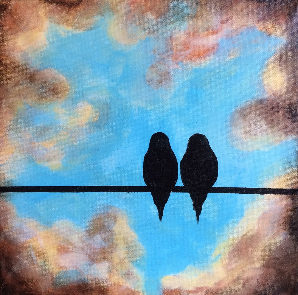 FEBRUARY 28 - LOVEBIRDS