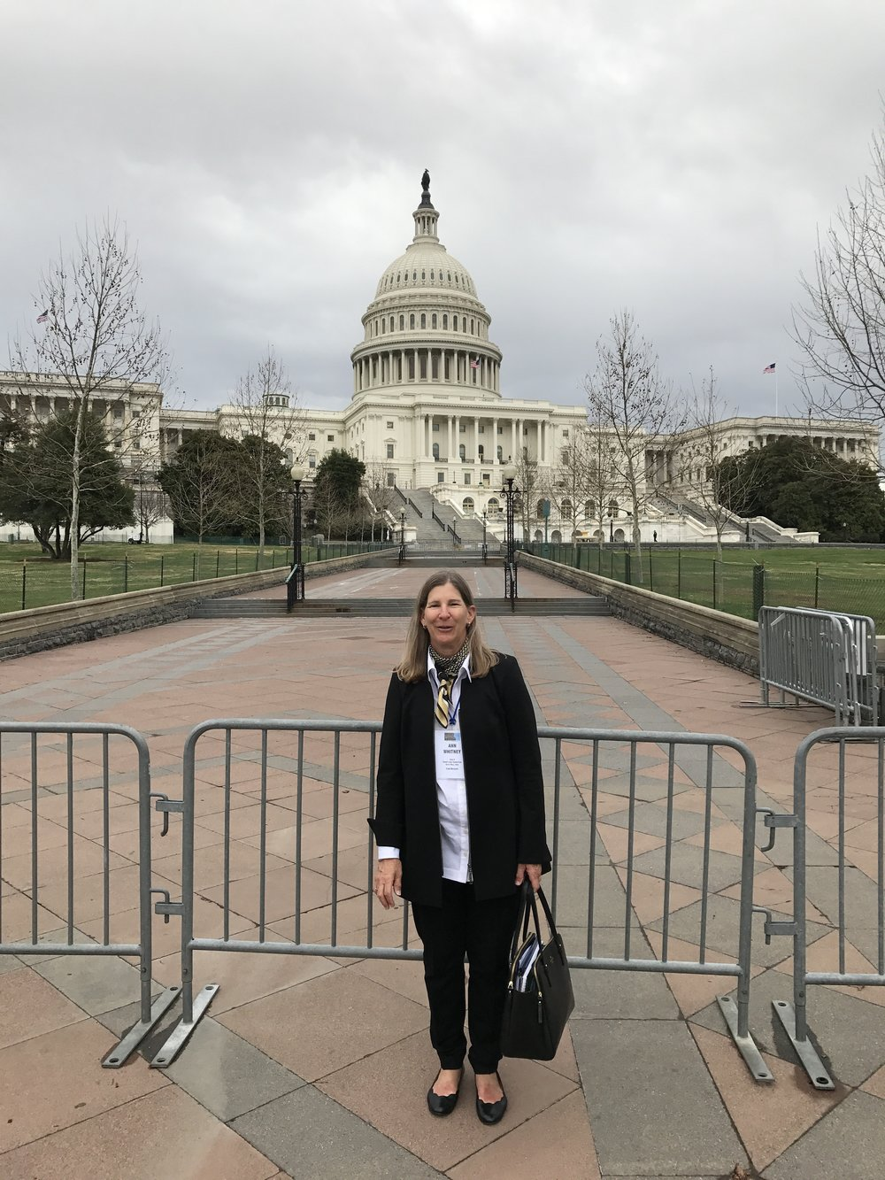 Ann Whitney at the Capitol