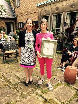 Dozie Herbruck - GCA Club Appreciation Award