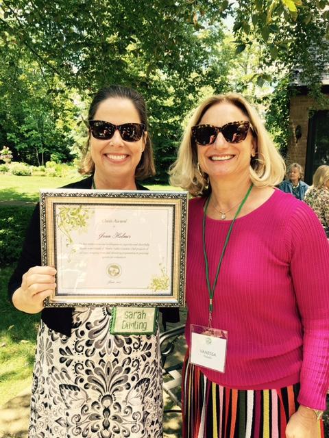 Joan Holmes - President's Oasis Award
