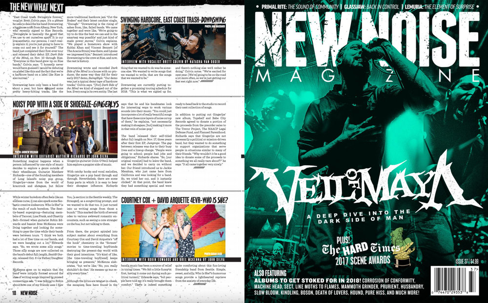 New Noise Magazine Issue 37 - Downswing Feature