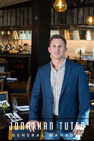 With fifteen years of restaurant management experience, local and state-wide, Jonathan Tuten joins The Granary team as general manager. Tuten brings with him proven sales records along with a talent for staff development.  Prior to joining the Granary, Tuten served as manager at Holy City Hospitality's Michael's on the Alley, Victor Social Club and Vincent Chicco's. During his time there, Tuten expanded upon his knowledge of the food and beverage industry, as well as service technique. Before joining Holy City Hospitality, Tuten held the position of restaurant manager at the Charleston Fish House. From 2006 to 2013, Tuten worked for Fatz Southern Kitchen for, splitting his time between the Columbia, S.C. and Charleston, S.C. locations. While working at Fatz Southern Kitchen, he was consistently ranked  Top Five  in the company for sales and bar costs for two consecutive years. Tuten's initial passion for the food and beverage industry first began while bartending at Mumbo Jumbo in Atlanta in 2000.    Outside of the restaurant, Tuten enjoys spending time with his wife and two sons, going to the beach, and cooking for his friends and family.