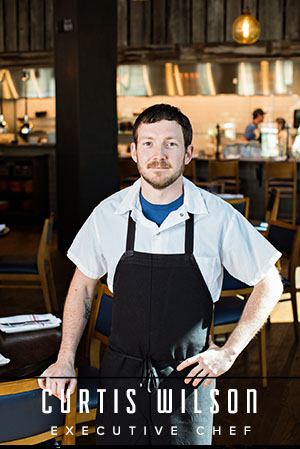 With a love for cooking that started at a very young age, Curtis Wilson joined The Granary as executive chef in October of 2017, bringing with him a unique culinary creativity and talent in the kitchen. Wilson works closely with local purveyors to craft a Lowcountry inspired and seasonally changing menu.  Prior to joining The Granary team, Wilson worked at The Macintosh for five years where he began as a pantry cook and worked his way up to sous chef. Previously, Wilson helped open Napa Mount Pleasant, where he spent nine months after the grand opening. Before moving to Charleston, he spent a stint of time working in a number of fine dining restaurants in South Florida as well as Charlotte, N.C. Wilson graduated from Johnson & Wales University in 2007.  When not in the kitchen, chances are you can find Wilson spending time with his three children and cooking for them at home, training Brazilian Jiu Jitsu or enjoying a game of disc golf.
