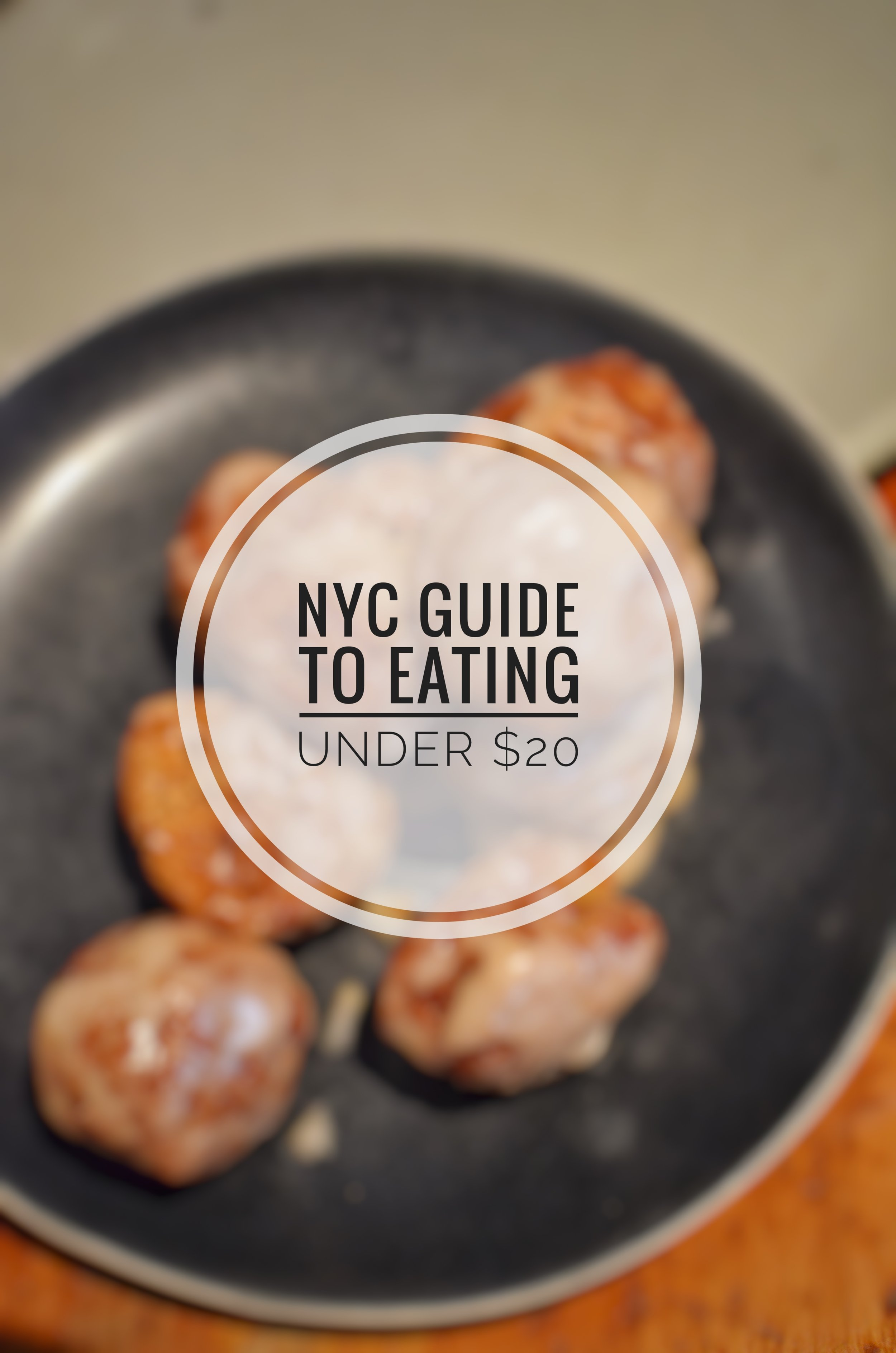 Yes you can eat for under $20 in NYC — Meet on Perry