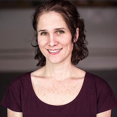julia rhoads, artistic director, lucky plush productions