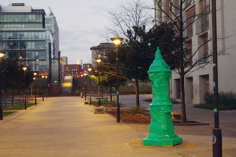 All Green fountain