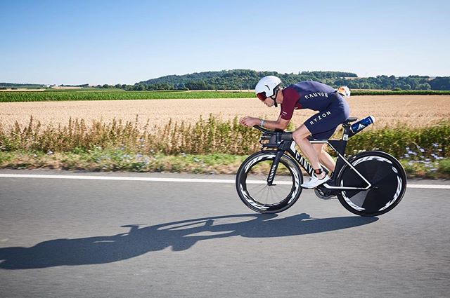 Germany is fast becoming my favourite country to race in. A respectable 4th place for me at @IronmanTri European Champs with a run course completely lined with spectators! 📸 @fx_makesapicture